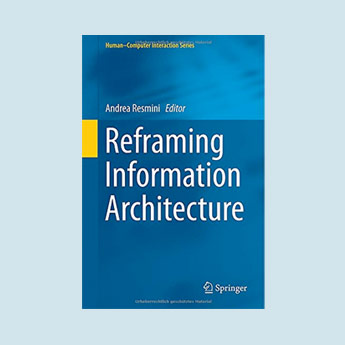 Reframing Information Architecture book cover